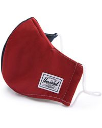 Herschel Supply Co. Fitted Face Mask - Red