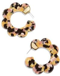 BaubleBar - Dorine Hoop Earrings - Lyst