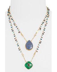 Gas Bijoux | Scapulaire Convertible Pendant Necklace | Lyst