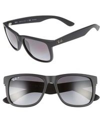 Ray-Ban - Justin 54mm Polarized Sunglasses - - Lyst