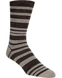 Cole Haan - Stripe Socks - Lyst