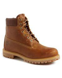 Timberland - 'premium Heritage' Round Toe Boot - Lyst