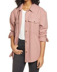 BP. Shirt Jacket - Pink