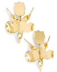 Lele Sadoughi - Golden Lily Drop Earrings - Lyst