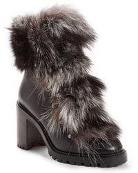 Christian Louboutin - Fanny Genuine Fur Boot - Lyst