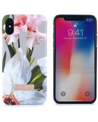 Ted Baker - Sid Chatsworth Bloom Iphone X Case - Lyst