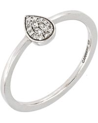 CARRIERE JEWELRY - Carriere Diamond Pave Teardrop Ring (nordstrom Exclusive) - Lyst