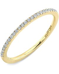 Bony Levy - 'stackable' Straight Diamond Band Ring (nordstrom Exclusive) - Lyst