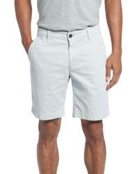AG Jeans - Wanderer Modern Slim Fit Print Twill Shorts - Lyst