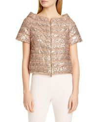 Herno Sequin Short Sleeve Down Puffer Jacket - Multicolour
