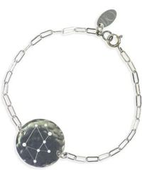 Nashelle | Ija 'zodiac' Sterling Silver Chain Bracelet | Lyst