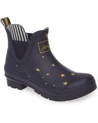 Joules Wellibob Short Rain Boot - Blue