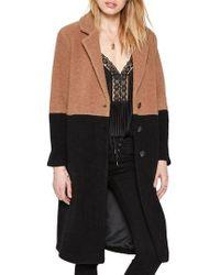 Amuse Society - Monroe Wool Blend Coat - Lyst