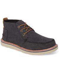 TOMS Moc Toe Boot - Black