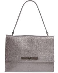 Ted Baker - Jessi Leather Shoulder Bag - Lyst