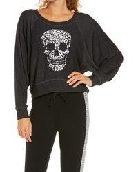 Chaser Wild Skull Pullover - Black