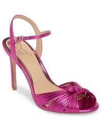 Badgley Mischka - Lady Ankle Strap Sandal - Lyst