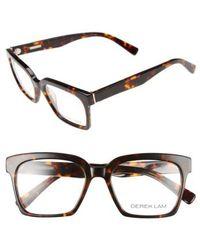 Derek Lam - 51mm Optical Glasses - Havana Tortoise - Lyst