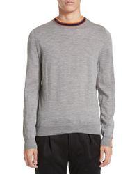 Paul Smith - Artist Stripe Merino Wool Sweater - Lyst