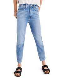 Madewell - The Momjean High Waist Jeans - Lyst