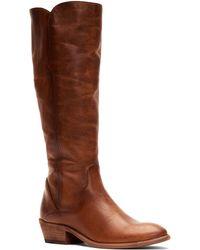 Frye Carson Knee High Boot - Brown