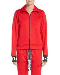 Proenza Schouler | Pswl Jersey Track Jacket | Lyst