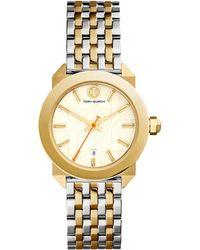 Tory Burch Whitney Bracelet Watch - Metallic