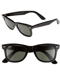 Ray-Ban - 'classic Wayfarer' 50mm Sunglasses - Lyst