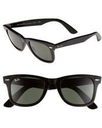 Ray-Ban - 'classic Wayfarer' 50mm Sunglasses - Lyst