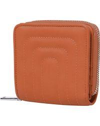 Urban Originals Joy Quilted Vegan Leather Wallet - Brown