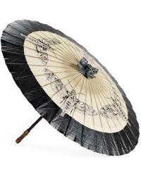 Gucci Insect Para Rosee Paper Parasol - Black