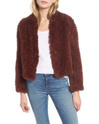 Heartloom - Rosa Faux Fur Jacket - Lyst