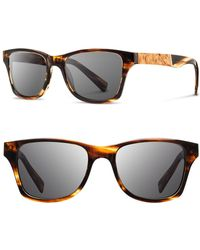 Shwood - 'canby' 53mm Sunglasses - - Lyst