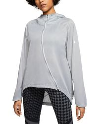 Nike Runway Shield Running Jacket - Grey