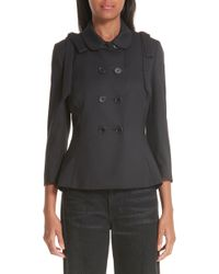 Simone Rocha - Fitted Suit Jacket With Shoulder Bows - Lyst