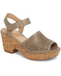 Clarks - Clarks Maritsa Nila Platform Sandal - Lyst