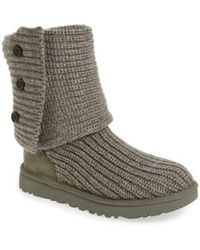 Ugg | Ugg Classic Cardy Ii Knit Boot | Lyst