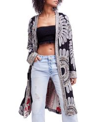Free People - Lisbon Embroidered Duster - Lyst