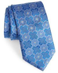 Canali - Medallion Silk Tie - Lyst
