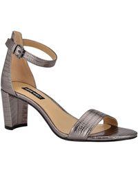 Nine West Pruce Ankle Strap Sandal - Multicolour
