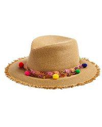 Eric Javits - Corfu Packable Squishee Straw Hat - Lyst