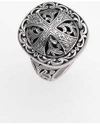 Konstantino - 'classics' Cross Dome Ring - Lyst