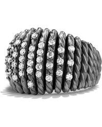 David Yurman - 'tempo' Ring With Diamonds - Lyst