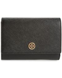 Tory Burch - Robinson Medium Leather Wallet - Lyst
