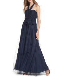 Jenny Yoo - 'annabelle' Convertible Tulle Column Dress - Lyst