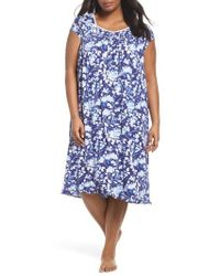 Eileen West - Modal Jersey Waltz Nightgown - Lyst