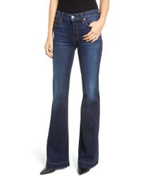 7 For All Mankind 7 For All Mankind Dojo Wide Leg Jeans - Blue