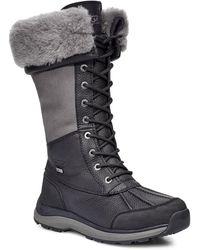 UGG Adirondack Tall Boot Iii Lace-up Boots - Black