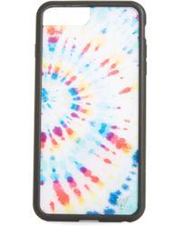 Wildflower Tie Dye Iphone 6/7/8 Plus Case - White