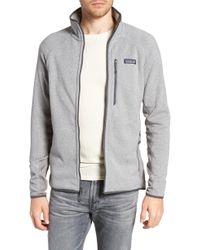 Patagonia - Better Sweater Performance Slim Fit Zip Jacket - Lyst